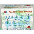 Вакуумные банки с вакууматором с магнитами (12шт/уп)