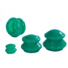 Банки силиконовые для вакуумного массажа 4 шт.